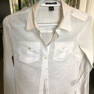 Club Monaco white shirt